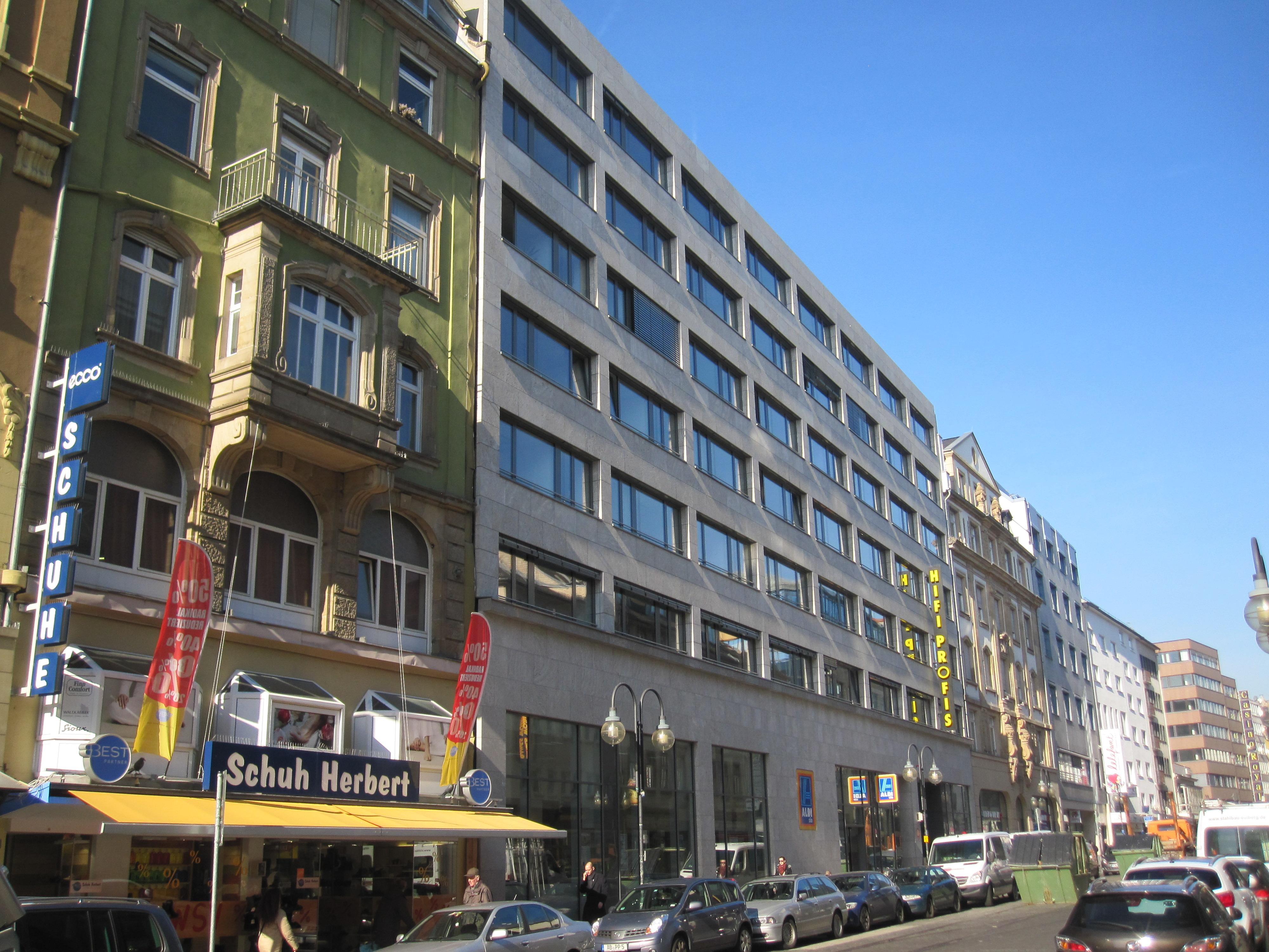 frankfurt am main gro e friedberger stra e 23 27 dietz ag. Black Bedroom Furniture Sets. Home Design Ideas